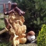 Варианты материалов для садовой скульптуры