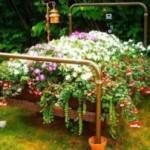 Оригинальные декоративные украшения для сада